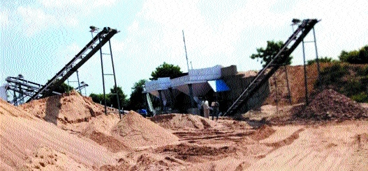 WhatsApp comes handy in fixing illegal sand mining spots especially in summers!
