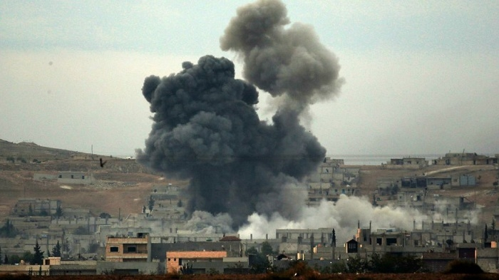 Misdirected US strike kills 18 allied fighters