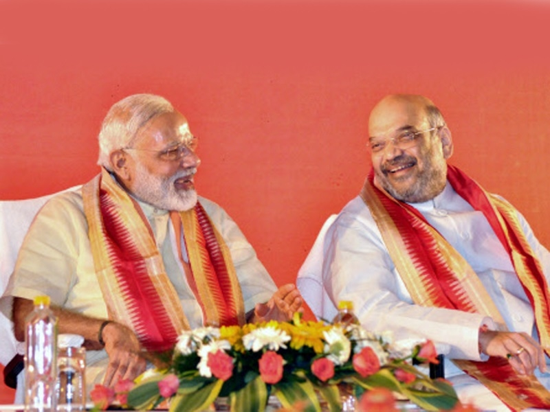 Shah eyes BJP's rule from'Panchayats to Parliament'