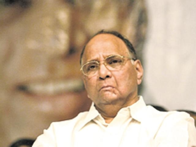 Pawar slams Cong for 'failing' to form Govt in Goa