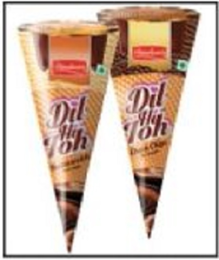 Dinshaw's launches 'Dil Hi Toh' cone ice cream range