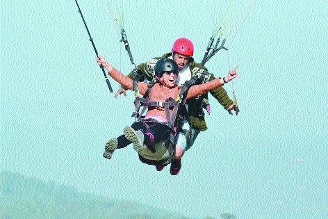 Air adventures, night camps become first choice of youngsters