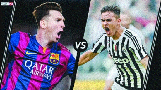 Messi vs clone Dybala