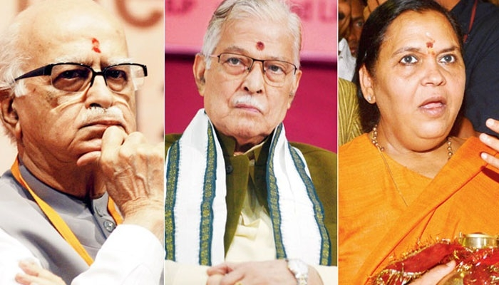 Advani, Joshi, Uma to face trial in Babri case, rules SC
