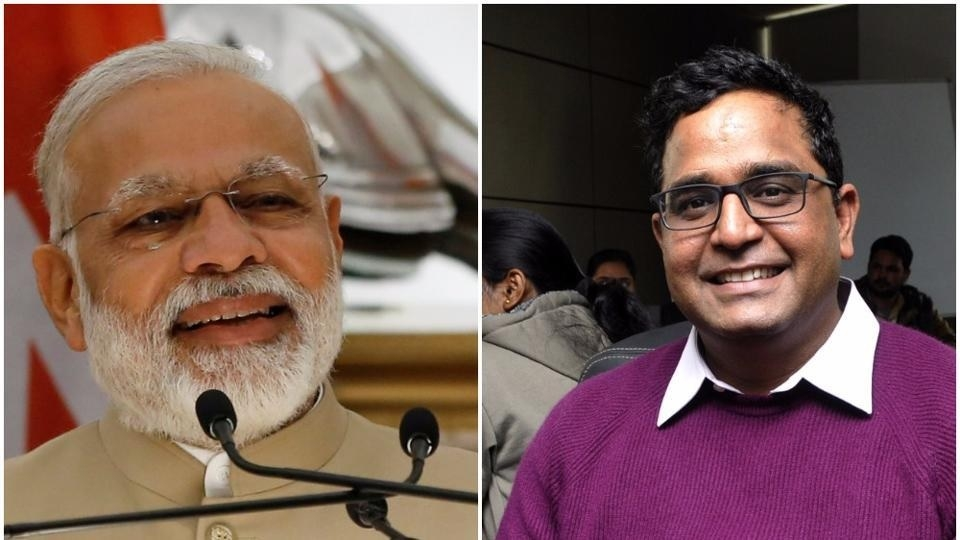 Modi, Paytm founder in list of Time's 'most influential people
