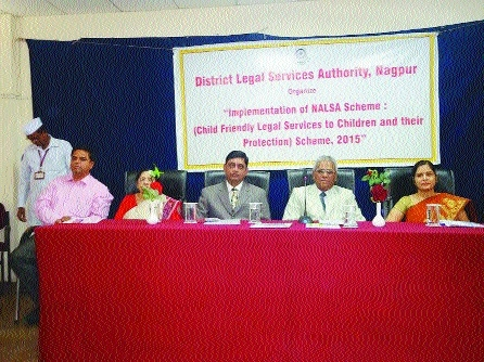 DLSA holds camp to make people aware about children's issues, protection laws