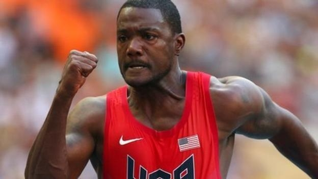 Gatlin trumps Grasse at World Relays