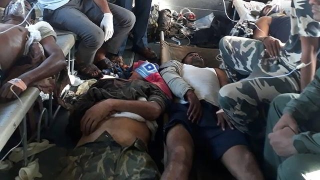 25 CRPF jawans martyred in Chhattisgarh Naxal attack