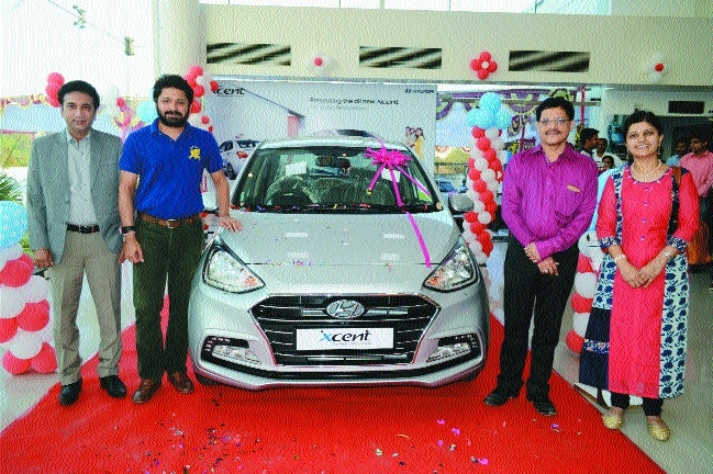 All-new Xcent launched at Ketan Hyundai showroom