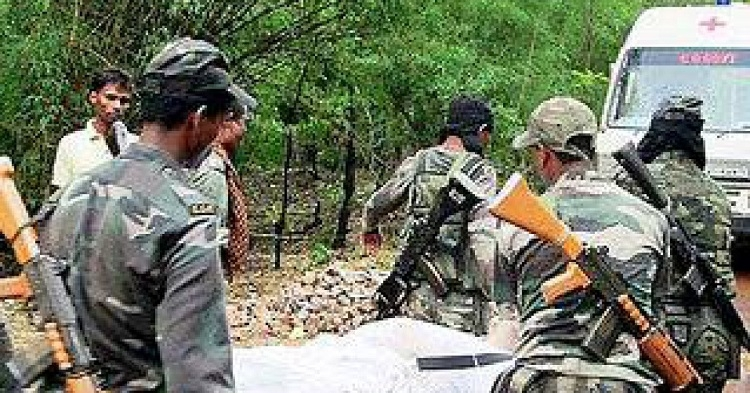 Naxals used villagers to distract CRPF troops