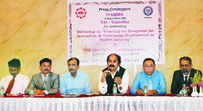 Textile Association of India's workshop on 'Creating ecosystem for innovation' today