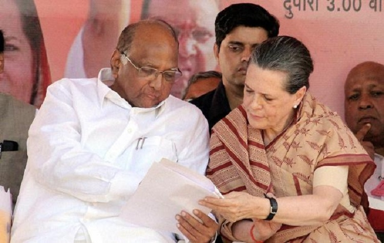 Pawar meets Sonia amid talks of joint President nominee by Opposition
