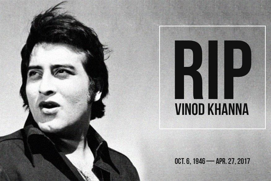 Vinod Khanna, Bollywood's 'Amar', passes away