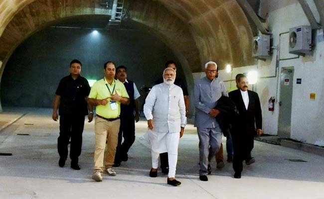 Modi opens India's longest road tunnel