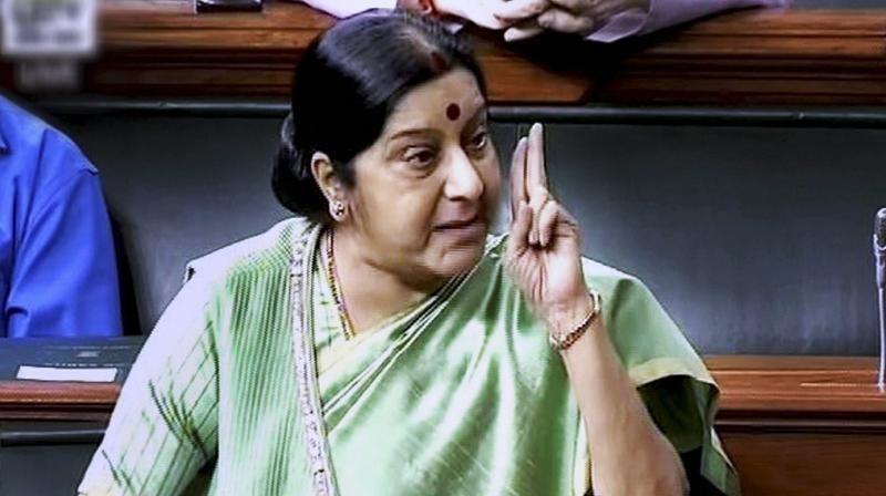 PoK belongs to India: Sushma