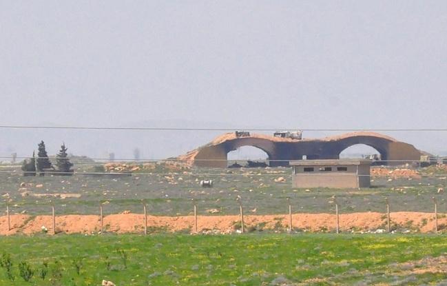 US attacks Syrian air base