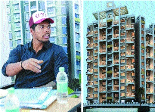 Cricketer Umesh Yadav finds Aasra a game changer housing project in Nagpur