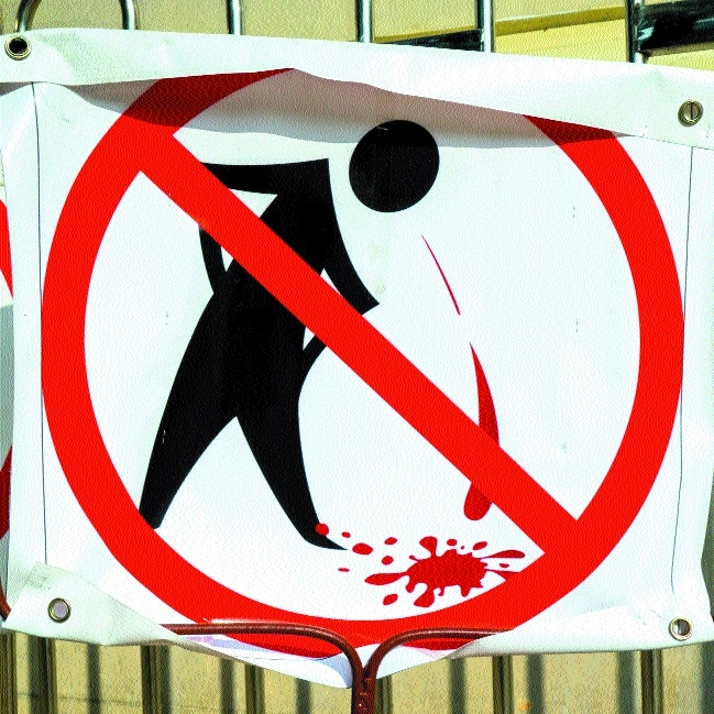 Cleanliness gentry calls for strict action against spitting at public places