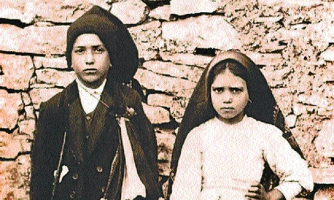 2 child shepherds who had visions of Virgin Mary in Fatima declared saints by Pope