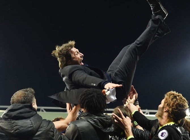 How Conte steered Chelsea to the title