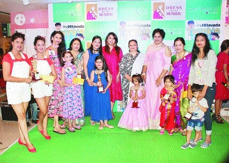 Overwhelming response to Pantaloons, The Hitavada Twinkle Club fashion show