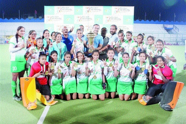 MPHA women defeat Haryana to win Junior National Hockey C'ship