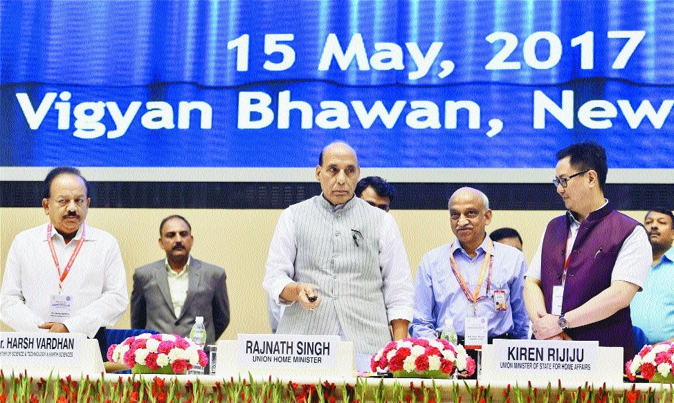 Over 50 pc population lives in disaster-prone areas: Rajnath