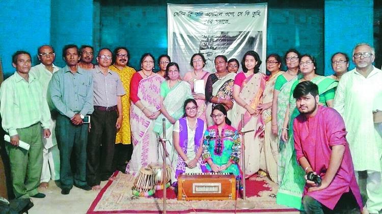 Khanan celebrates Rabindra Jayanti