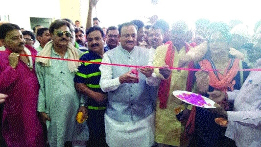 Rani Awanti Bai indoor stadium inaugurated at Dhanpuri