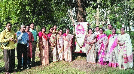 Tagore's 156th birth anniversary celebrated