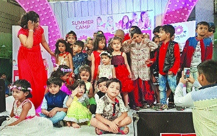 Shree Shivam Blossom Club, Kids World Club organise summer camp