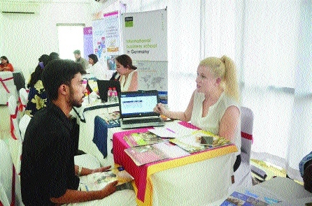 Krishna Consultants' Education Fair a grand success