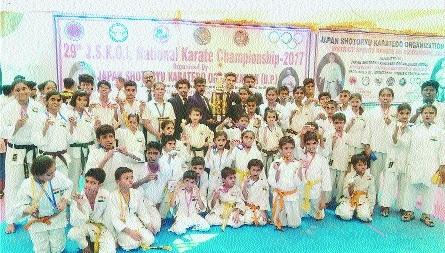 Nagpur karatekas shine in Mah win