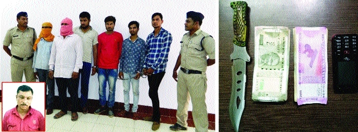 Seven involved in various crimes arrested