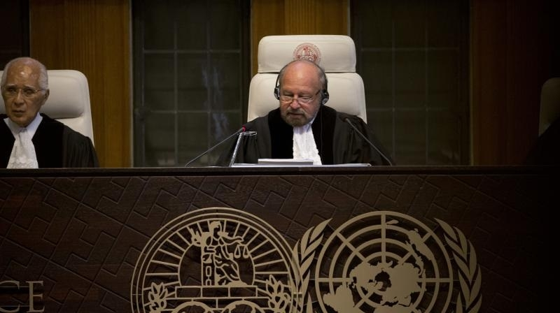 Pak can't hang Jadhav till final verdict: ICJ
