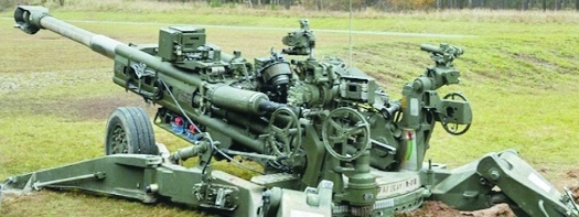 Two artillery guns land in India after a long wait of 3 decades