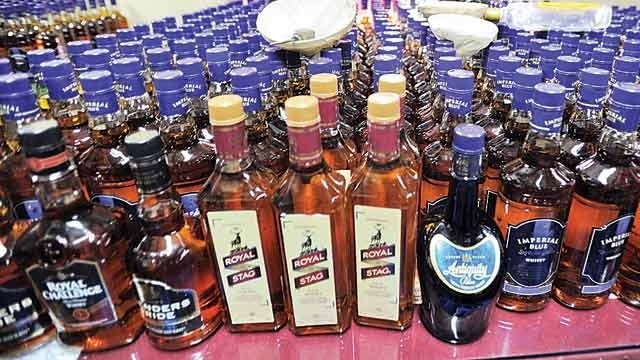Liquor worth Rs 13 lakh seized in raids across district