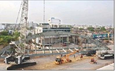 Traffic 'standstill' on Ring Road-1 as bridge work begins