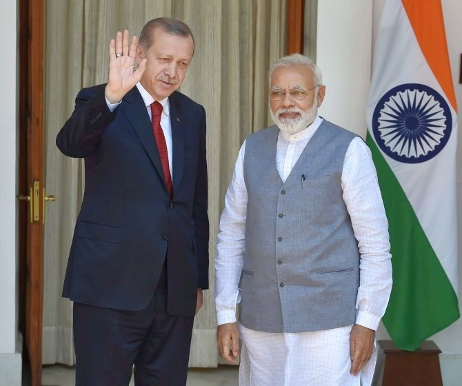 Modi, Erdogan say threat of terrorism 'a shared worry'