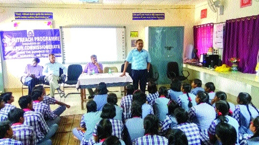 Interactive session on GST held at Kendriya Vidyalaya 1 STC, CMM