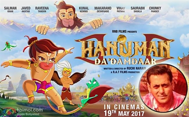 Salman's swag for Hanuman