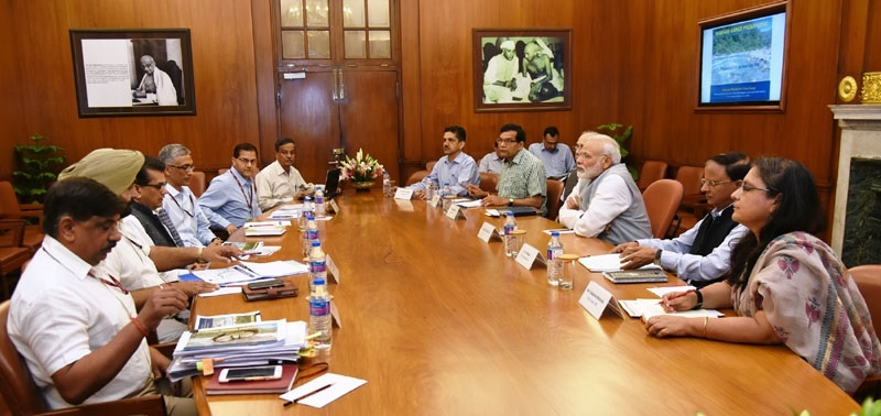 PM reviews progress of cleaning Ganga; asks officials to involve people in task