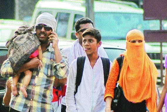 Heat wave conditions to continue  in entire Vidarbha till May 21