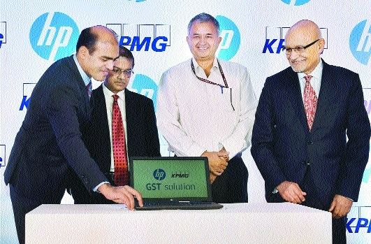 HP, KPMG unveil GST solution for traders