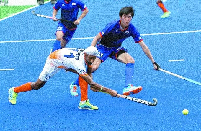 Mandeep's hat-trick hands India 4-3 win over Japan