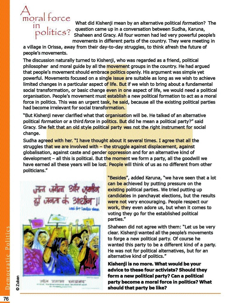 NCERT needs slain Maoist to explain democracy to Class X students!
