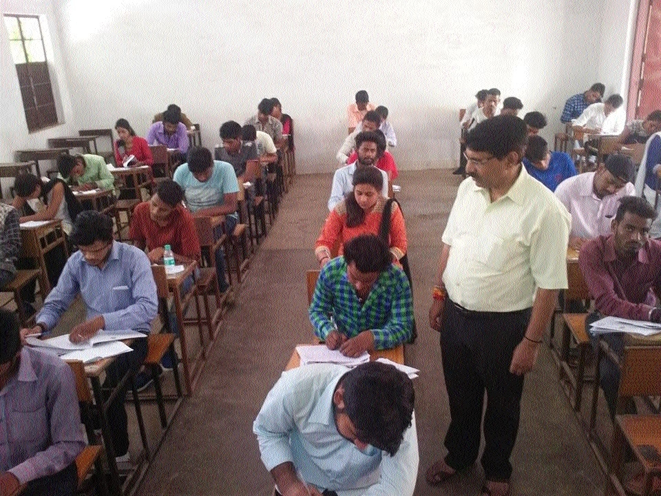 RDU VC Mishra inspects exam centres