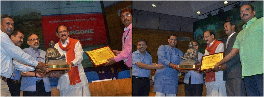Three cities of Chhattisgarh get Swachh Survekshan 2017 award