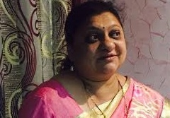 Former corporator Vishakha Maind  killed in mishap