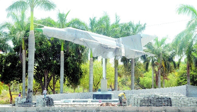 MIG-21 still awaits unveiling at Traffic Park